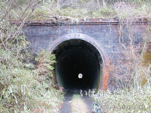 泉沢トンネル(仙台側)<br>同じ泉沢トンネルでも、意匠には差が感じられます。