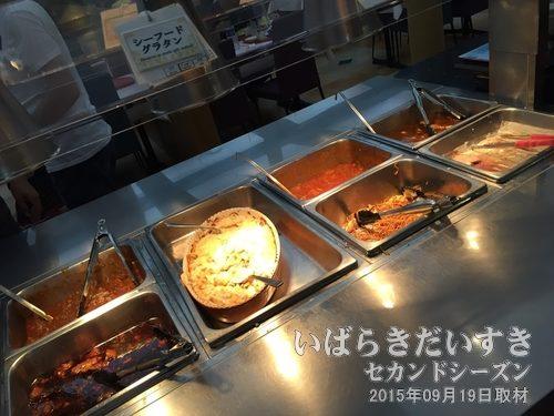 フェリー夕方便 レストラン(2015ver.)