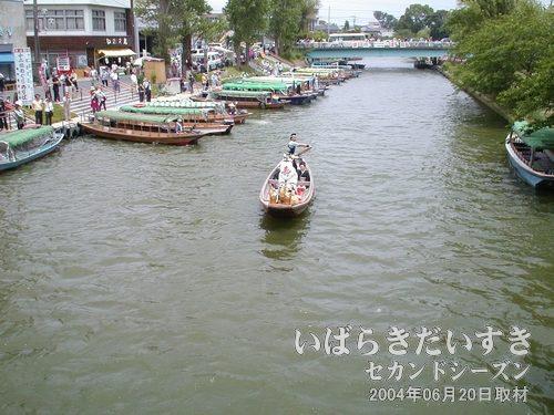 舟に乗って前川から常陸利根川へ