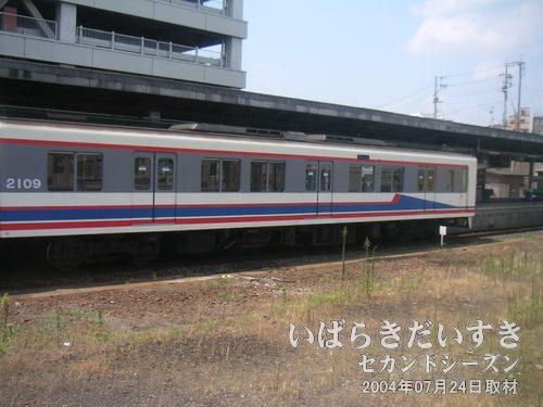 関東鉄道常総線 取手駅下り常磐線車内から撮影。常総線に乗って、水海道の祇園祭に行きました。