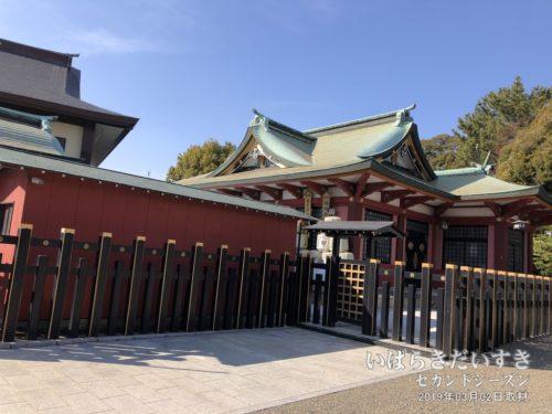 水戸東照宮:祭神は徳川家康。