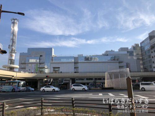 JR水戸駅:今回は日帰りなので帰ります。
