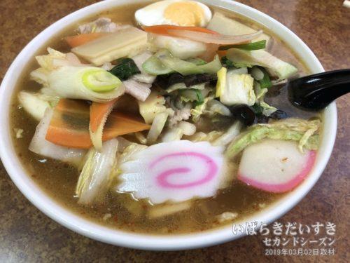 神立店オリジナルメニュー「珍麺(ちんめん)」。