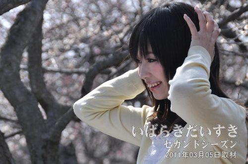 モデル 光川真由さんによる撮影会