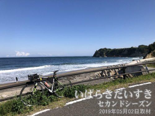 茨城百景 包括風景 長浜(浜庄さん付近)