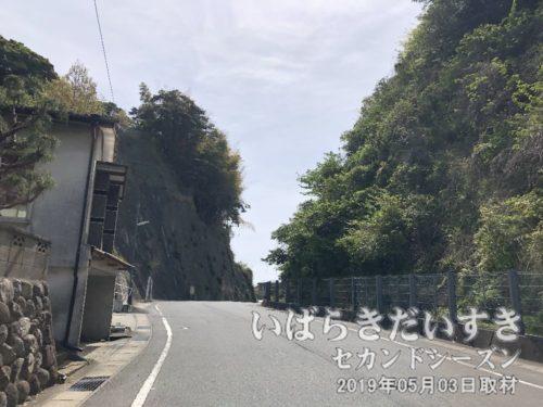 国道6号から平潟港へ抜ける道