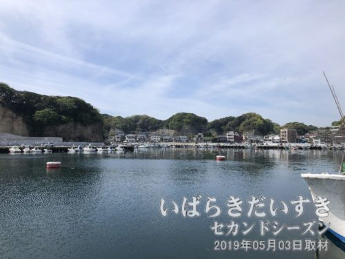 茨城百景 包括風景 外浜(平潟港)