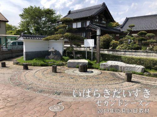 松岡八景 二本松の秋月<br>「松岡八景」というのがあるのか。。「二本松」なのに1本しか松がありません。