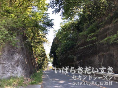 県道10号を軸に北上していきます<br>日立駅市街地から花園神社(北茨城市)方面へ北上します。