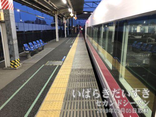 勝田駅から特急で帰ります<br>これにて、ロード福島19 から始まった 令和けんぽくの旅19 は終了です。ありがとうございました。