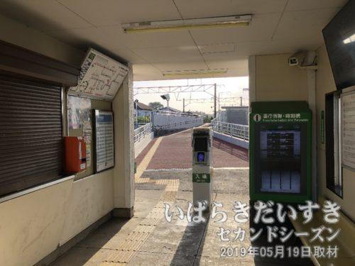 宍戸駅 簡易Suica入退場システム