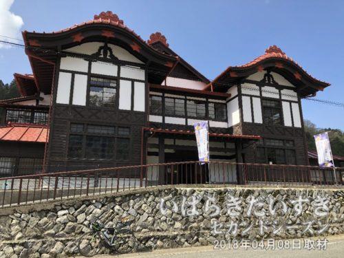 共楽館(現 日立武道館)<br>本山の日立鉱山で働く労働者や家族を楽しませた共楽館。映画や舞台、歌謡ショーなど催されました。