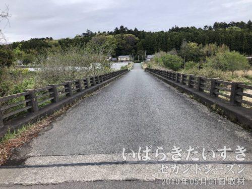 萩平橋(はぎたいらばし)<br>竜田駅から金山トンネルへアクセスするときに使う道路。