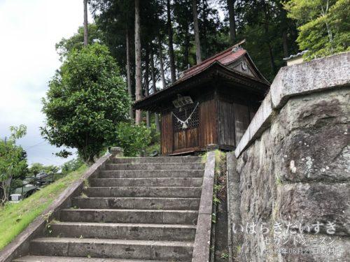 三峯神社。包括風景「三峯山」だと推測しています。
