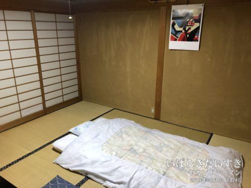 和室。宿泊は二度目です。