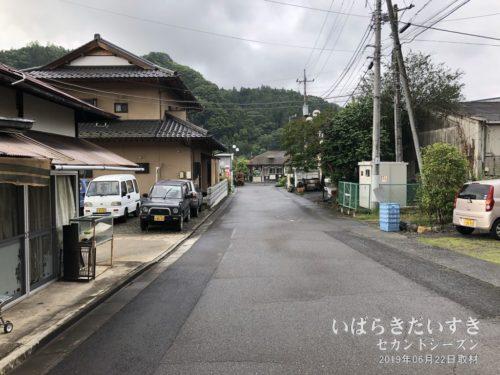 JR下野宮駅の駅前を朝散歩する