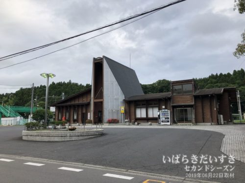 水郡線 JR山方宿駅