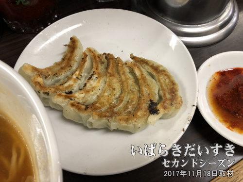 餃子:〇永娘娘<br>元祖北浦和店の思い出補正、および、普通に食べても一番娘々っぽい餃子を提供していると思います。