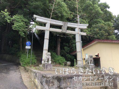 布川神社鳥居。