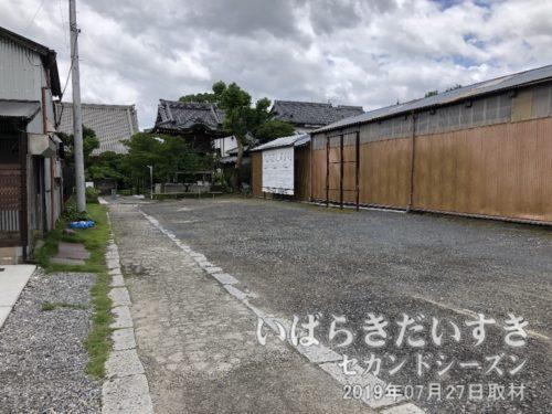 等覚寺〔茨城県土浦市大手町〕の入口