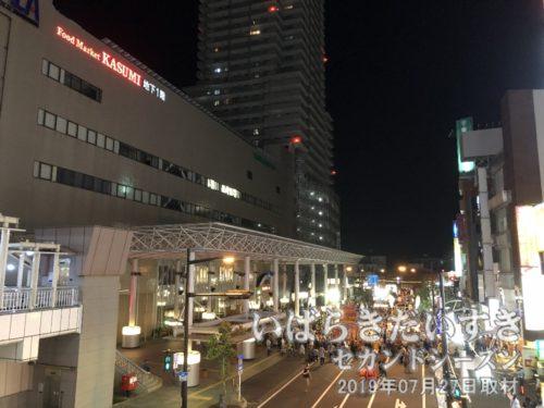 イトーヨーカドー土浦店(新)は土浦市役所となり、市民の使い勝手の良さを目指そうとしています。