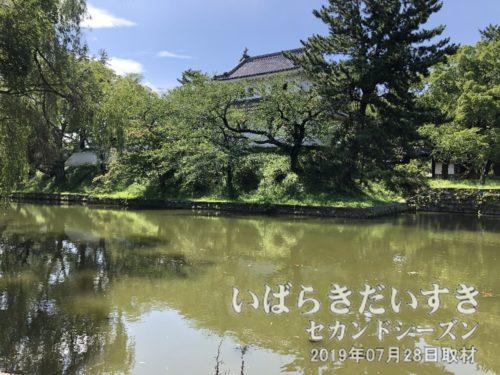 茨城観光100選 亀城公園→茨城百景 桜川堤と亀城公園
