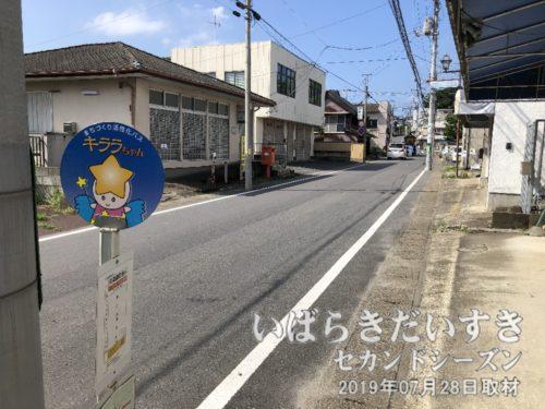 バス停「真鍋宿通り」に戻ってきてしまった!!
