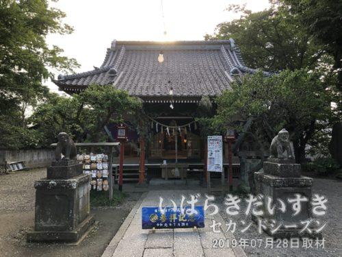 龍ケ崎 八坂神社 拝殿