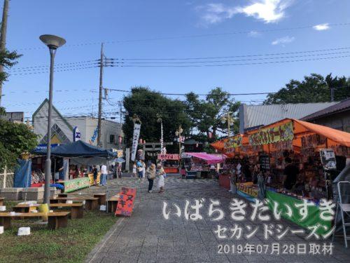 龍ケ崎祇園祭の出店は誠意準備中!