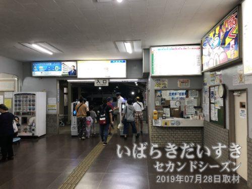 関東鉄道 竜ヶ崎駅に戻ります。
