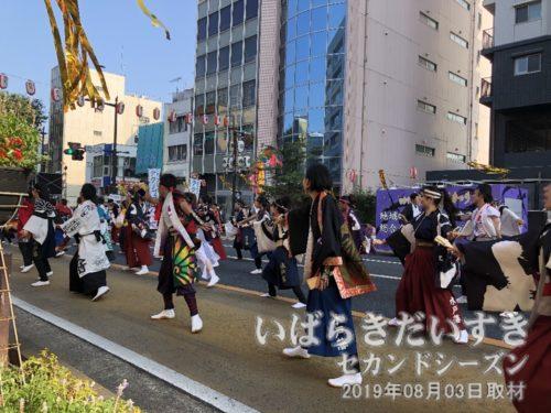 水戸藩YOSAKOI連:コスプレをしています。
