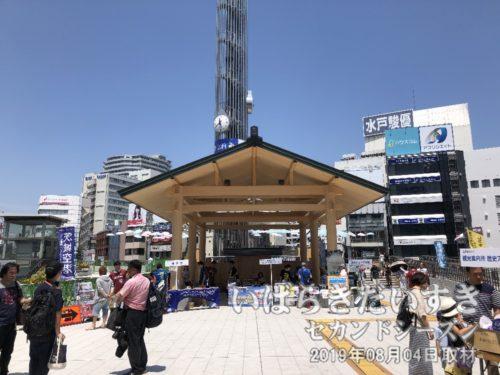11時40分、水戸駅に到着!