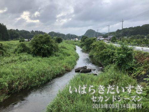 茨城百景 包括風景 下金沢八景<br>上岡小学校校歌の歌詞にもあった「押川」。とりあえずここを「茨城百景 包括風景 下金沢八景」のひとつ、とさせていただきます。