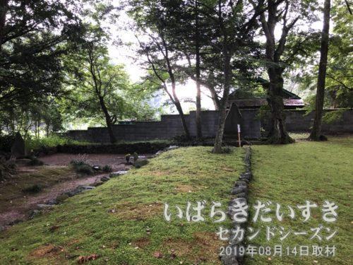 法龍寺境内の風景。