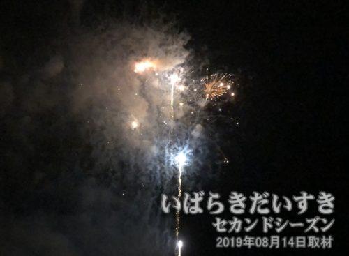 久慈川の花火大会
