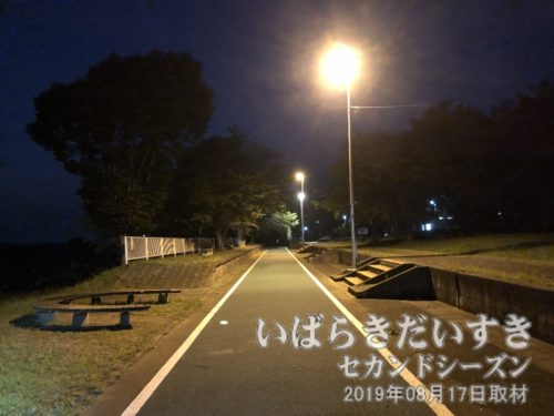 つくばりんりんロード 藤沢駅跡。