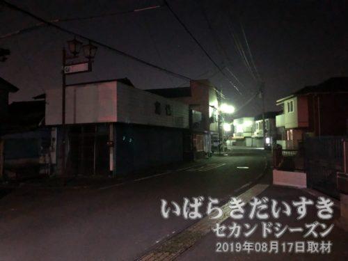 藤沢の町中を通り過ぎる。
