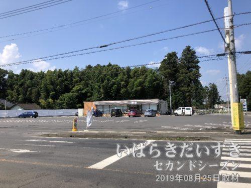 セブンイレブン小美玉与沢店で休憩。