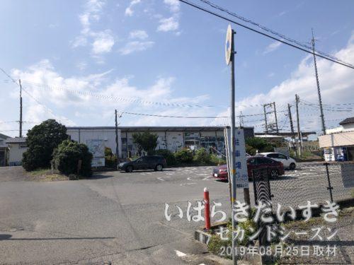 常磐線 高浜駅に到着。
