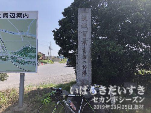 茨城百景 高濱の釣場