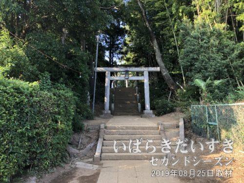 もう一度だけ、小張愛宕神社にお礼を言う。