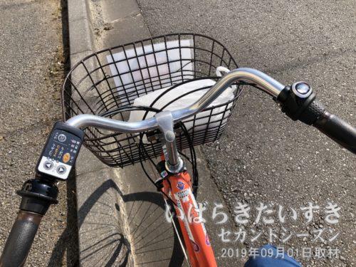 電動機付自転車をレンタルする。