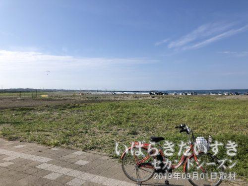 茨城百景 包括風景 下津平井海岸