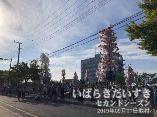 鹿島神宮 第二駐車場に到着。