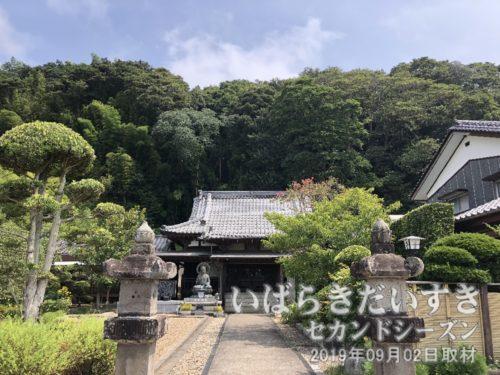 茨城百景 包括風景 根本寺