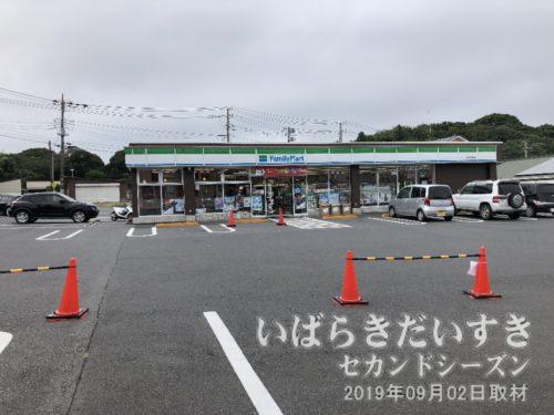 ファミリーマート鹿島神宮前店。