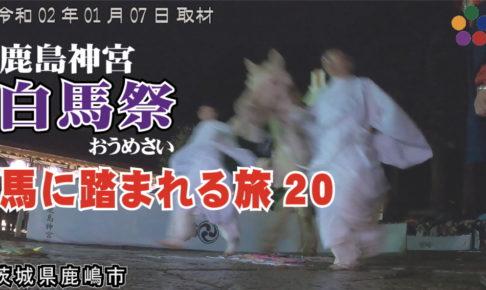 鹿島神宮 白馬祭 ~馬に踏まれる旅20