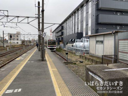 佐原駅_鹿島線0番線ホーム
