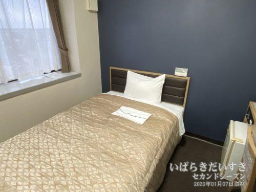 部屋はリニューアルされており、きれいだ。