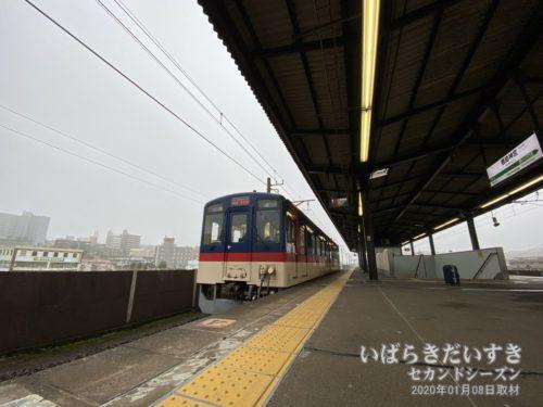 水戸駅行き 大洗鹿島線。